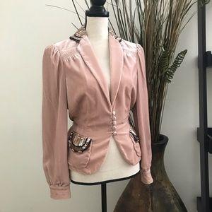 Marc Jacobs Velvet Sequin Jacket